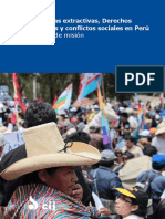 Peru DESC Extractives Publications Reports Facts Finding Mission Report 2016 SPA METINN