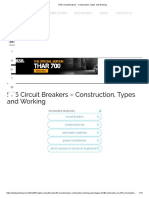 SF6 Circuit Breakers - Construction, Types and Working