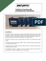 300W 3RU DC-DC Converter Brochure With Distribution