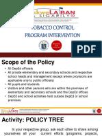 Tobacco Control Intervention Program