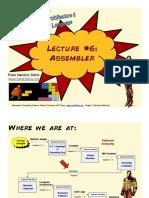 Lecture 06 - Assembler (FULL)