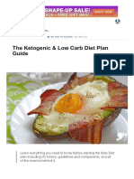 The Ketogenic & Low Carb Diet Plan Guide