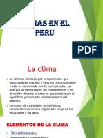 CLIMAS EN EL PERU I