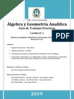 Algebra Modulo 1 2019