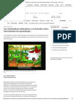 Los Simuladores Educativos y Su Función Como Herramienta de Aprendizaje