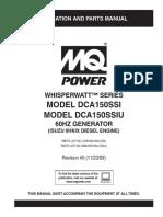 Generator MQ DCA150