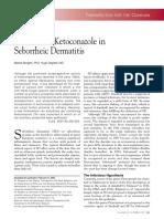 Ketoconazole pada Dermatitis seboroik