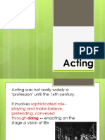 Actor and the Acting Process [Autosaved]
