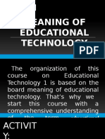 Educational Technology 1