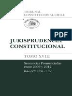 Sentencias Tribunal Constitucional de Chile - Tomo 18