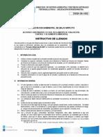 EVALUCIACON AMBIENTAL DE BAJO IMPACTO