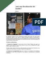 Qué Hacer Ante Una Fiscalización Del Seniat y La Sundde