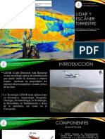 Lidar y Escaner Terrestre Light Detectio