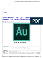 Adobe Audition CC 2019 v12.1.2.3 Multilenguaje (Español)
