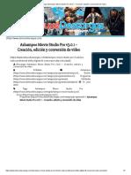 Descargar Ashampoo Movie Studio Pro v3.0.1 - Creación, Edición y Conversión de Vídeo