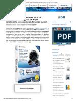 WinZip System Utilities Suite 3.8.0.28 Full, Programa Mejorar Velocidad PC
