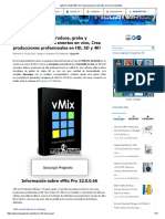 VMix Pro 22.0.0.66 Full, Programa Para Transmitir en Vivo en Español