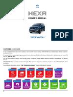 Tata Hexa 2019 OM