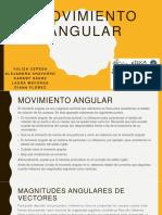 Ejercicio Movimiento Angular
