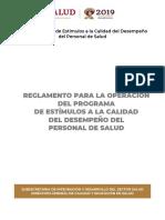 Reglamento PECD 2019