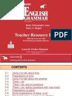 gramática de inglés