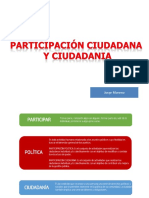 Participacion Ciudadana y Ciudadania