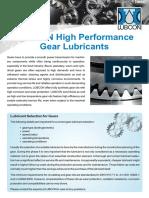 LUBCON High Performance Gear Lubricants En