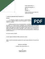 Escrito Solicitud Copias Simples Carpeta Investigacion Estado Mexico