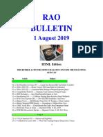 Bulletin 190801 (HTML Edition)