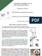 Filtración y Separación Por Membrana