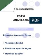 ESAVI-ANAFILAXIA
