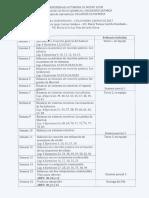 Programa analítico de balance de Materia