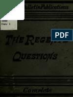 Regents Questions 00 New y