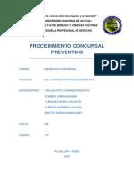 Procedimiento Concursal Preventivo Final (1)