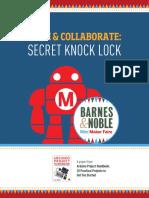Secret Knock Lock