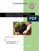 Composta de Lombriz Californiana