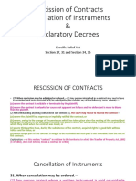 Rescission, Cancellation and Declaratory Decree.pptx