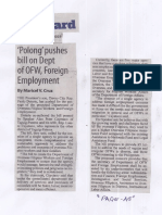 Manila Standard, Aug. 1, 2019, Polong pushes bill on Dept of OFW, Foreign Employment.pdf