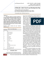 Numerical Simulation of Helically Coiled Closed Loop Pulsating Heat Pipe