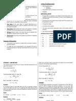 Depreciation Notes
