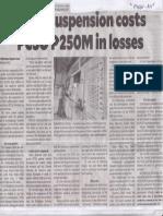 Philippine Daily Inquirer, Aug. 1, 2019, Lotto suspension costs PCSO P250M in losses.pdf