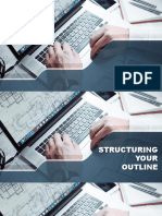 Principles of Structuring your Outline