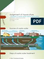 Umer Raza Assignment of Aquaculture