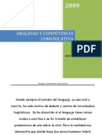 La Oralidad y cia Comunicativa
