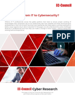 How Do I Go From IT to Cybersecurity White Paper