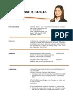 Baclas, Clarice Anne R._cv1