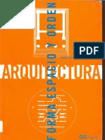 Arquitectura, Forma, Espacio y Orden Ching F.