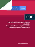 Estrategia Entorno Educativo 2019