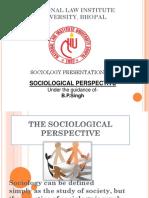SOCIOLOGY PRESENTATION NLIU BHOPAL.pptx