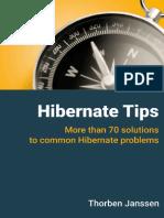 Thorben Janssen, Steve Ebersole - Hibernate Tips_ More Than 70 Solutions to Common Hibernate Problems-CreateSpace Independent Publishing Platform (2017)